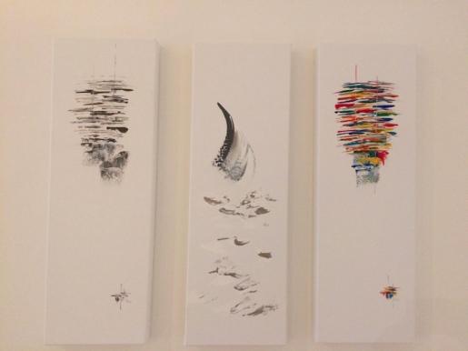 marseillefaitmaison-marseille-peinture-artiste-toiles-acryliques-voiles-bateaux-inspirationmer-atelier-le castellet-triptyque