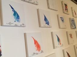 marseillefaitmaison-marseille-peinture-artiste-toiles-acryliques-voiles-bateaux-inspirationmer-atelier-le castellet-voiles-orange-bleu