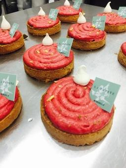 la pépite-pâtisserie-sans gluten-sans lactose-fraises-tarte-fait maison-marseille